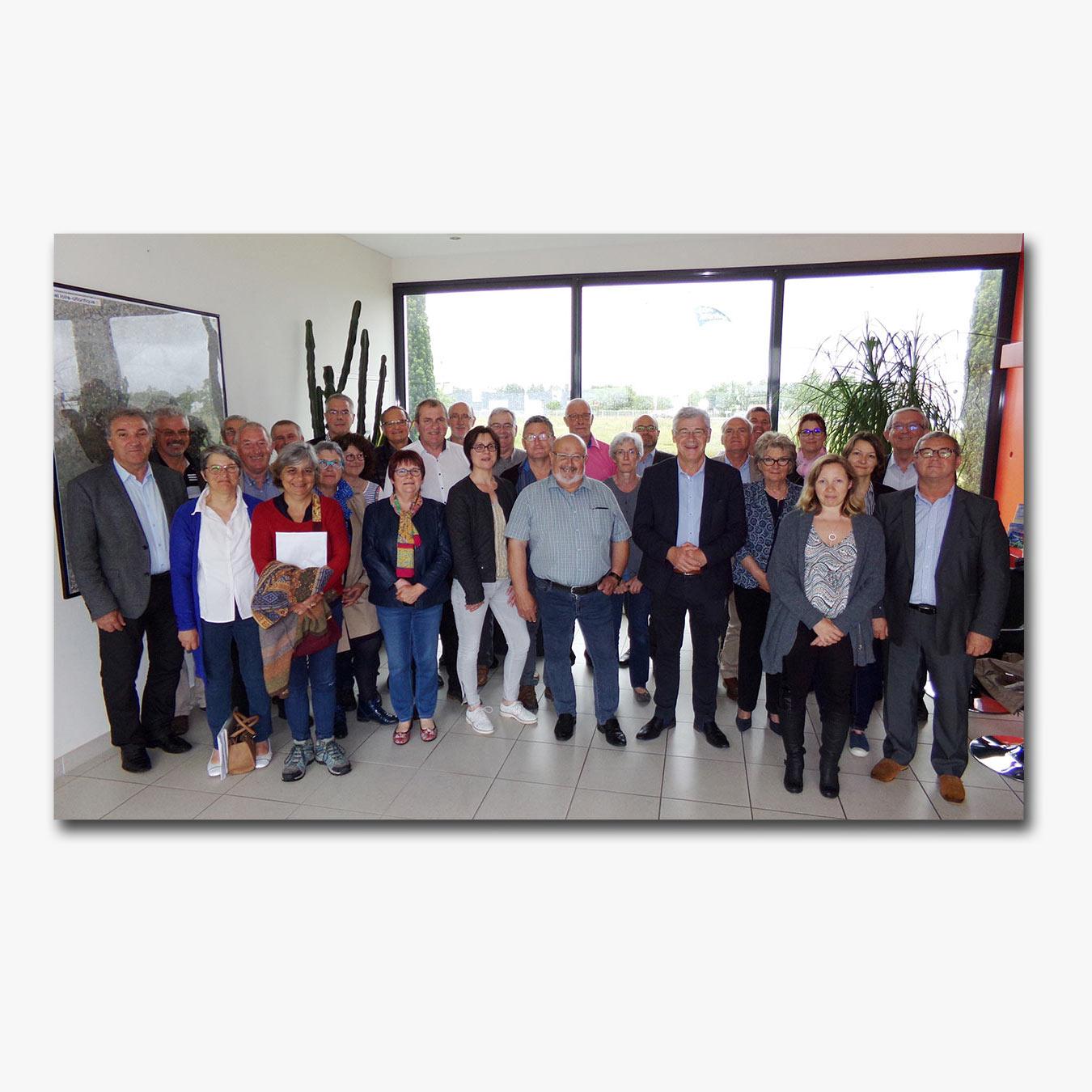 Conseil communautaire Sud Retz Atlantique en juin 2017