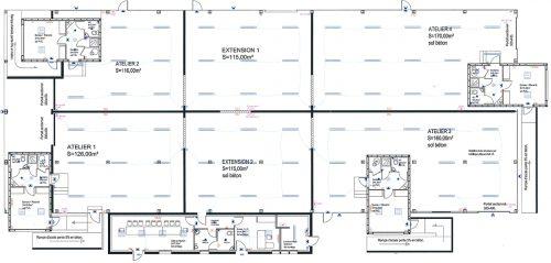 Plan hôtel entreprises Legé 44 Sud Retz Atlantique