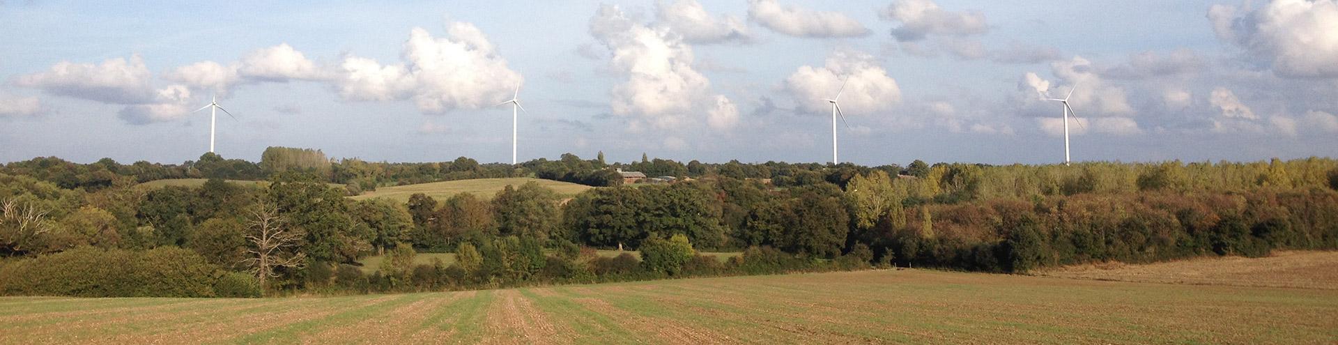 Commune Touvois 44650 éoliennes 44