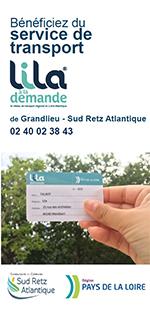 Transport Pays de la Loire - Lila à la demande