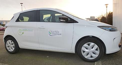 Zoé Sud Retz Atlantique voiture électrique