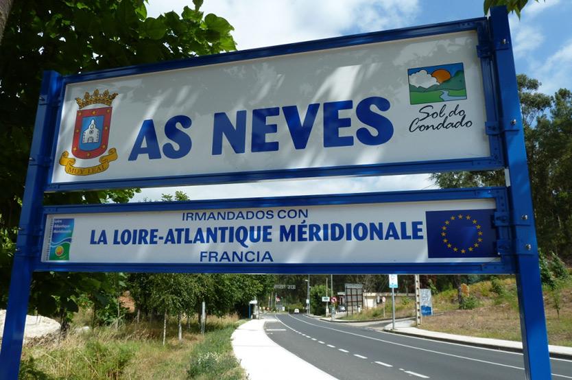 Jumelage ex-Loire Atlantique Méridionale Espagne As Neves