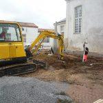 Préparation terrain - Espaces Verts Sud Retz Atlantique