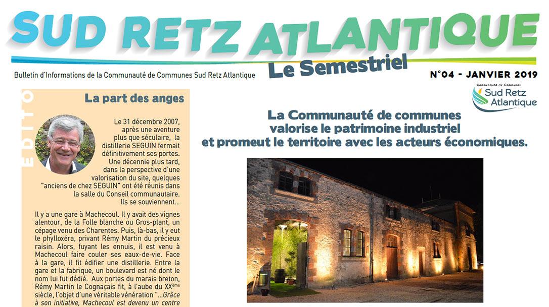 Sud Retz Atlantique Bulletin Communautaire Janvier 2019