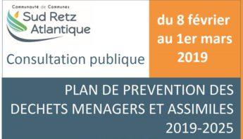 Plan Local de Prevention des Dechets information relative a la consultation publique