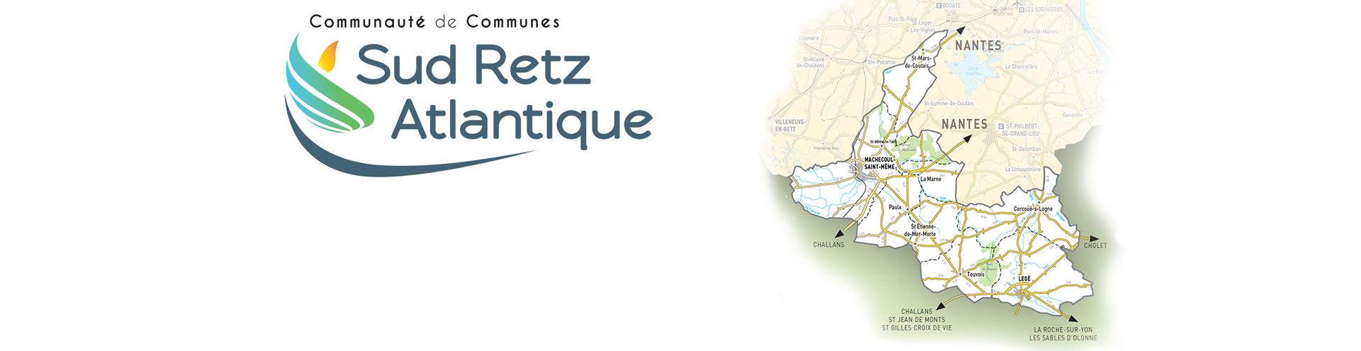 Carte Sud Retz Atlantique 2020 Communauté de Communes
