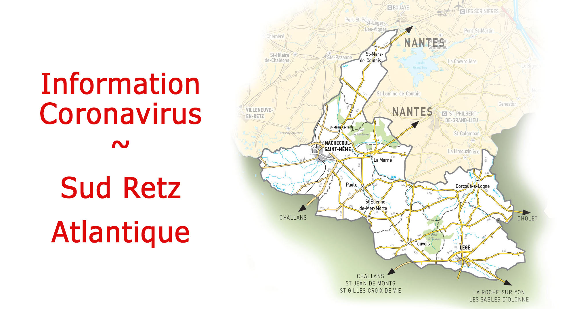 Information Coronavirus Sud Retz Atlantique