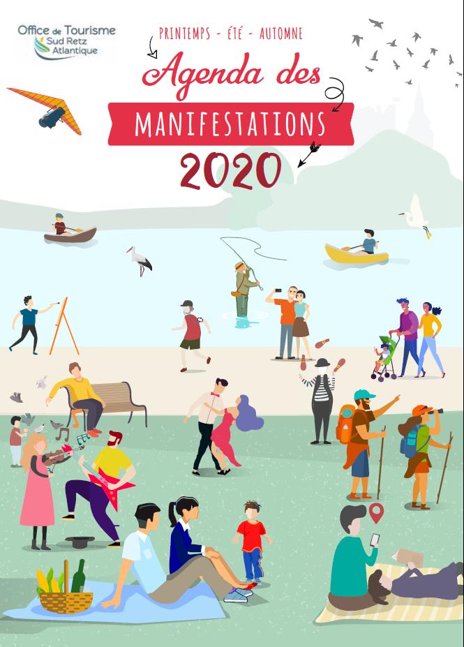 tourisme sud retz atlantique : agenda des manifestations 2020