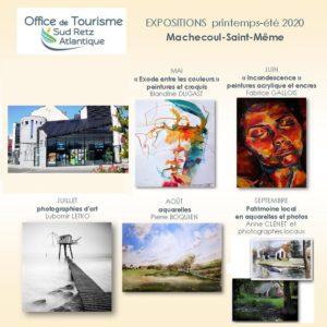 tourisme sud retz atlalantique exposition mai à septembre 2020