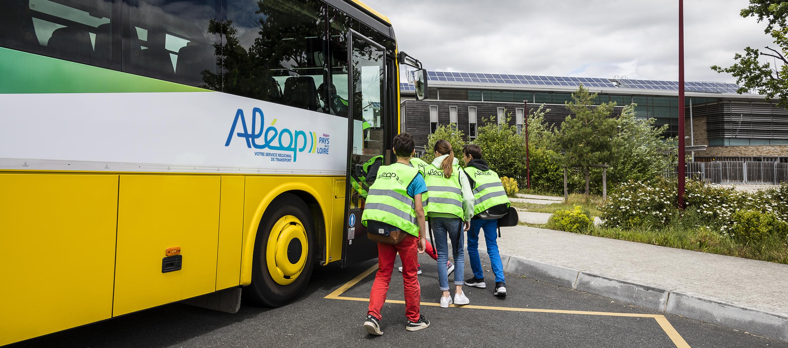 transports scolaires aleop de la region des pays de la loire