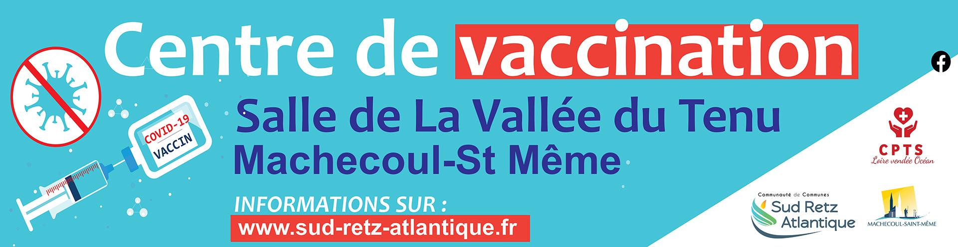 Vaccination Machecoul St Mëme Covid 19 CCSRA