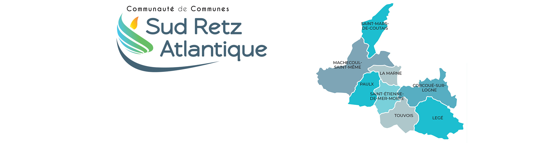 Carte Sud Retz Atlantique 2021 Communauté de Communes